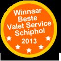 Winnaar beste Valet Service Schiphol 2013